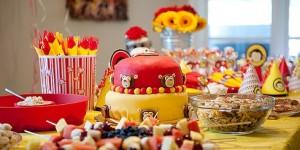 mesa de fiestas infantiles