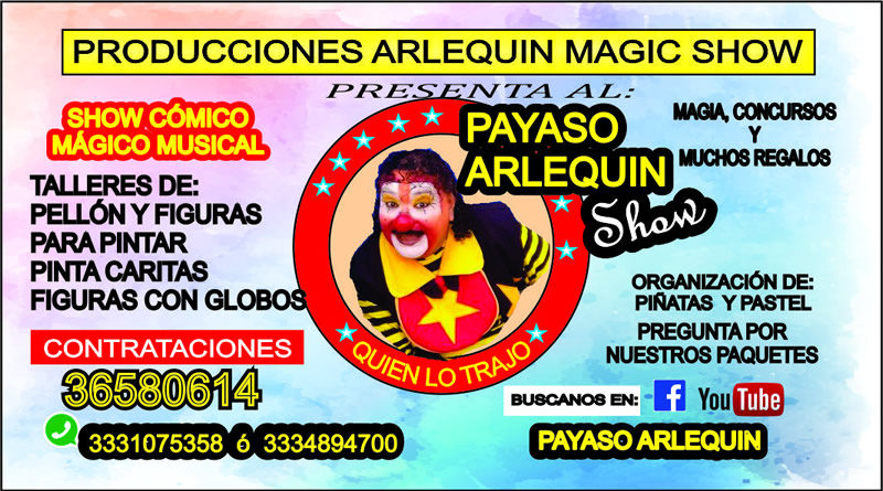 arlequin magic show